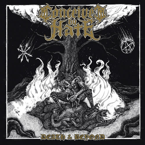 CONCEIVED BY HATE - DEATH & BEYOND CD